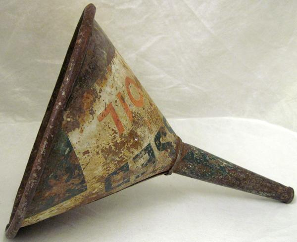 This Is Believed To Be A Conoco 1930s Motor Oil Funnel