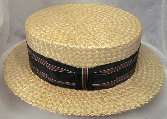 Vintage Men s STRAW HAT~Size 7-1 8